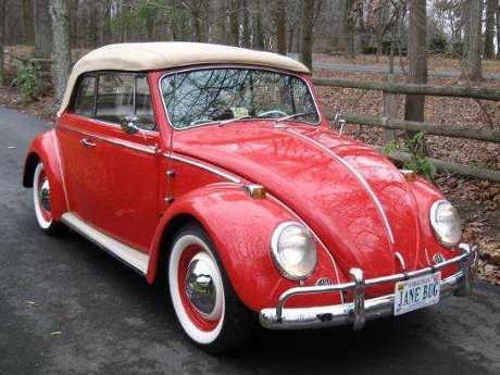 1965 VW Beetle restoration