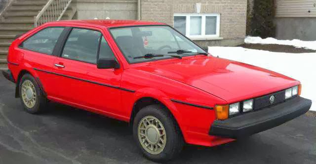 1985 VW Scirocco for Sale in canada
