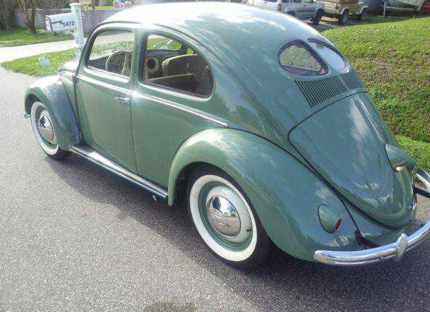 1949 Deluxe Beetle Split Window