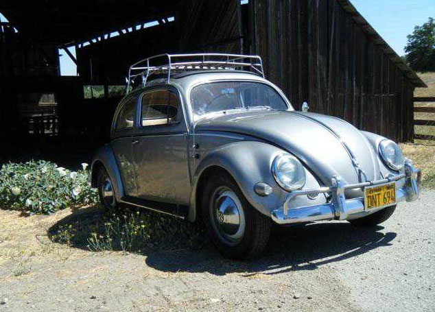 1956 VW Bug Ragtop for sale