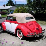 1956 VW Beetle Cabriolet Convertible