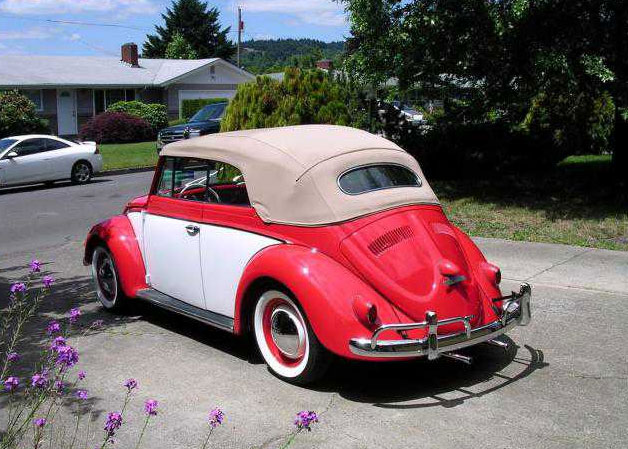 1956 VW bug Cabriolet Convertible