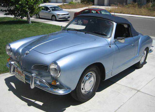 1970 Karmann Ghia Convertible