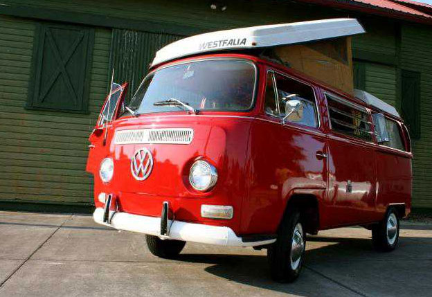 1970 VW Bus Pop Top WESTFALIA