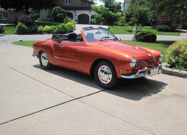 1971 Karmann Ghia Convertible