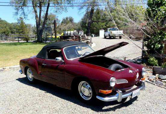 1972 Karmann Ghia Convertible