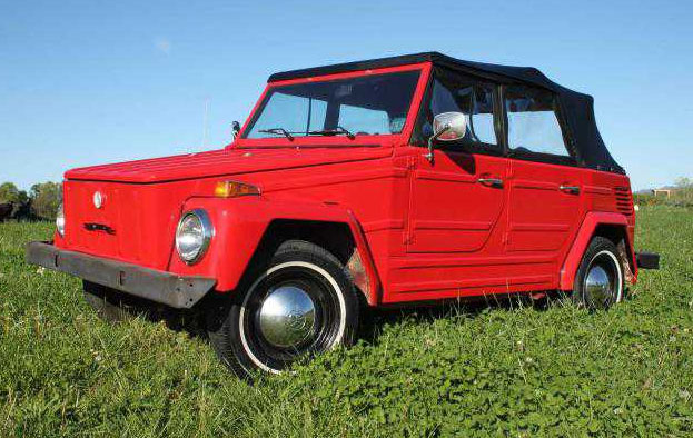 For Sale VW Thing 1973 Red