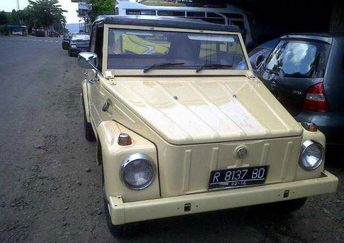 clean 1973 VW Thing for Sale