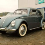 1954 VW Beetle Oval Deluxe