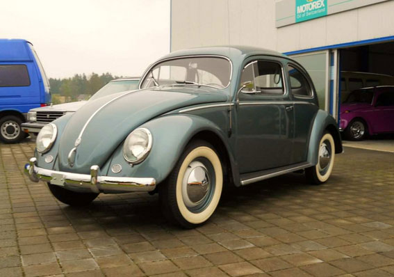 1954 VW Beetle Oval Deluxe for sale
