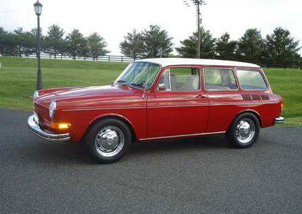 1970 Squareback Automatic red