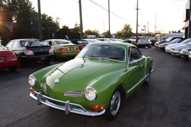 1971 vw karmann ghia for sale green