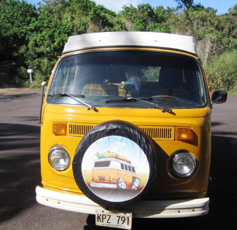 1977 Volkswagen Westfalia Campmobile Pop Top