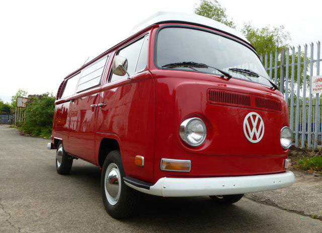 70 Westfalia red camper
