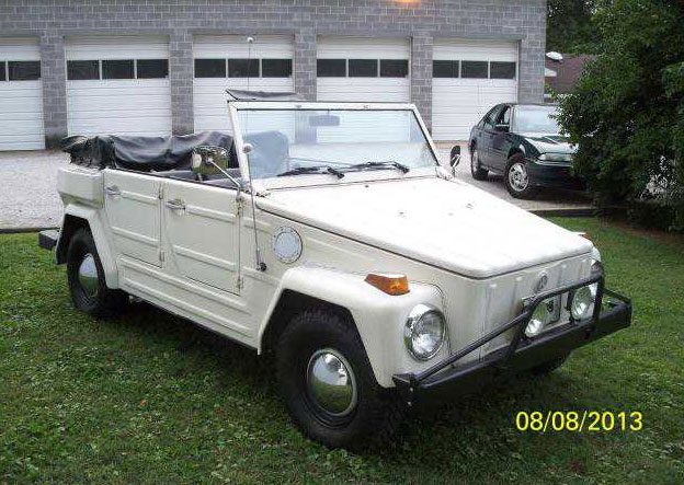 classic volkswagen thing 1974 vw thing white for
