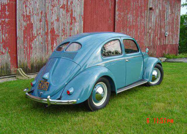 1952 VW Beetle Split Deluxe