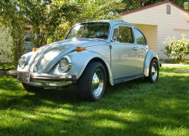1977 vw Beetle Powder Blue