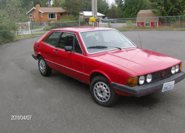 1980 VW Scirocco S Mars Red