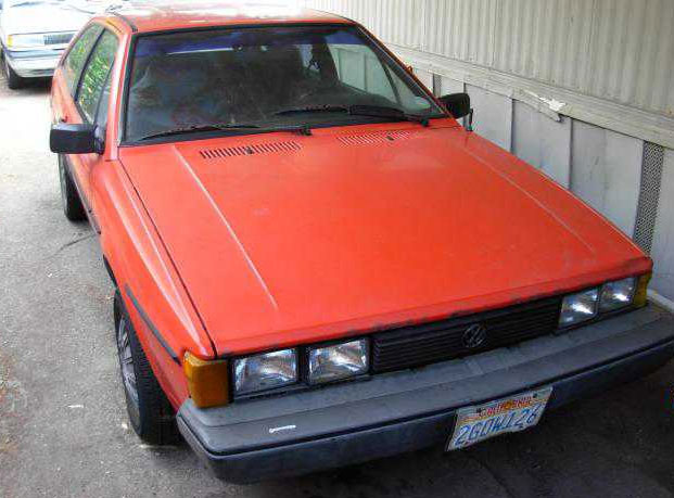 1986 VW Scirocco for Sale