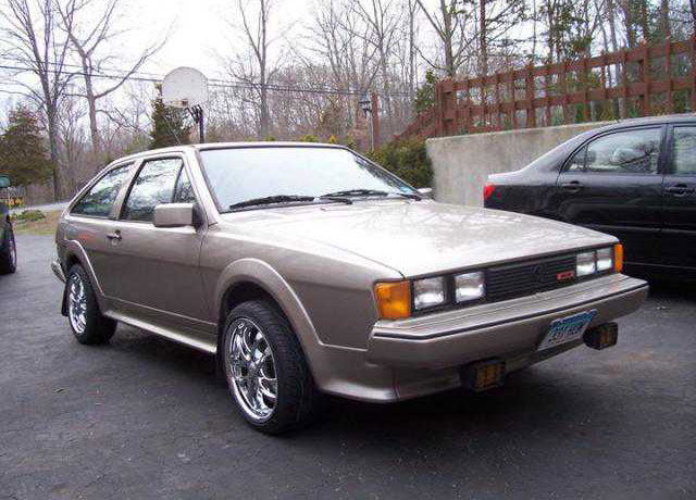 87 vw Scirocco 16V for sale