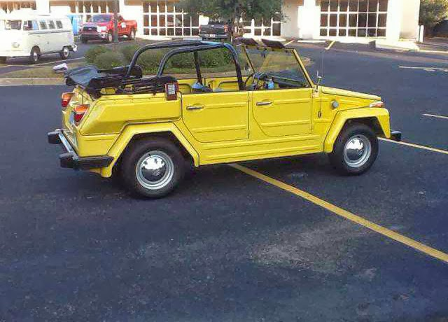 VW Thing Original Paint