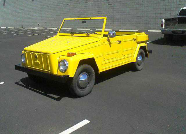 Yellow 1973 Volkswagen Thing for Sale