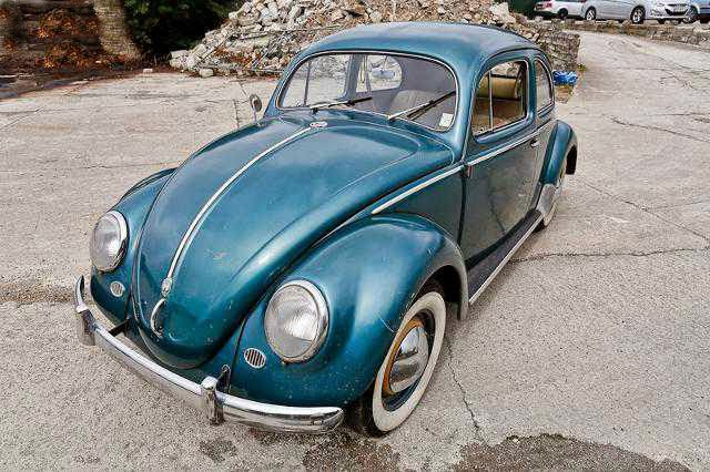1955 RHD Bug 56k from New