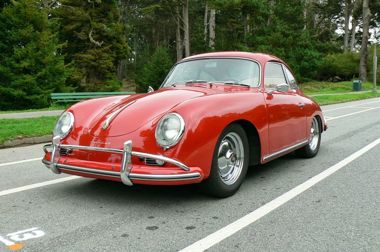 1958 Porsche 356A Sunroof Coupe