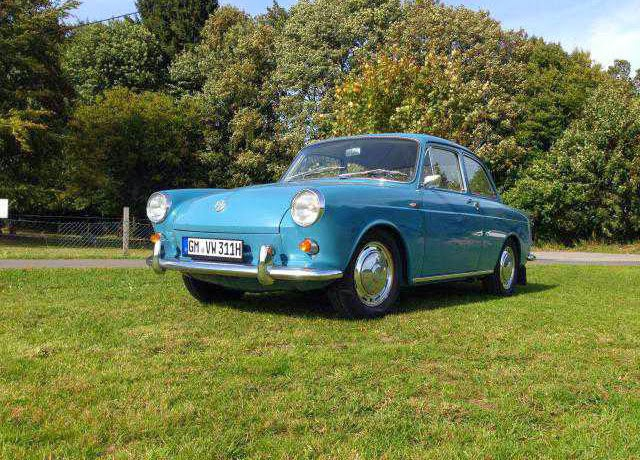 1962 Volkswagen Notchback for Sale