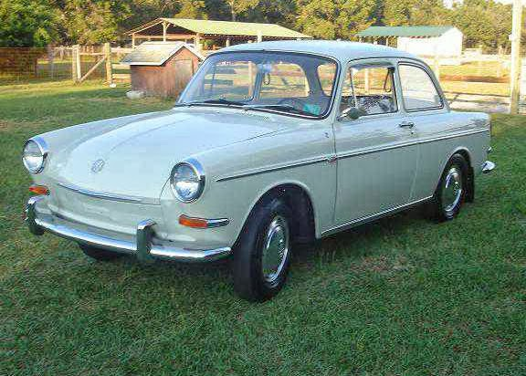 1965 Notchback White