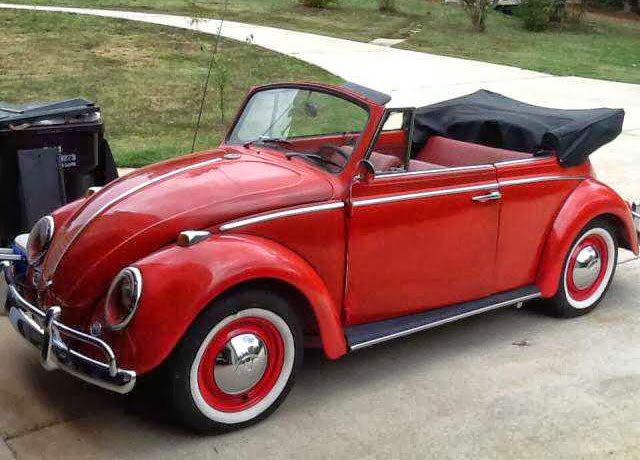 1966 Convertible Bug daily driver