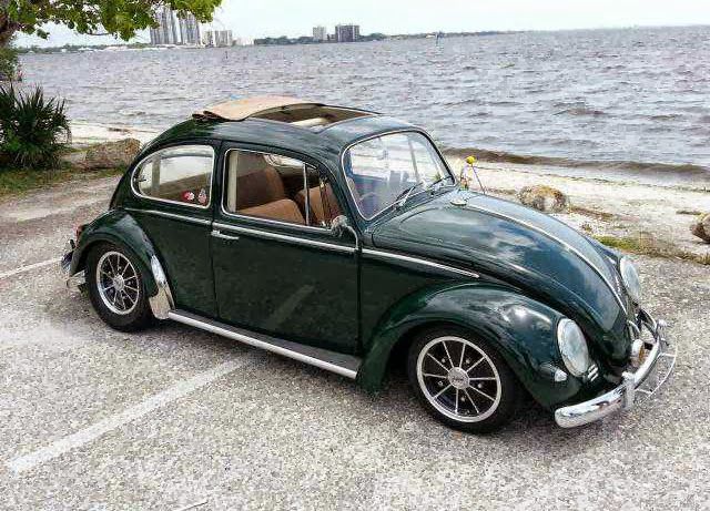 1966 VW Beetle RHD sun roof