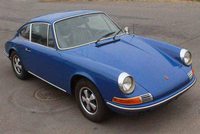 1969 Porsche 912 Sunroof Coupe