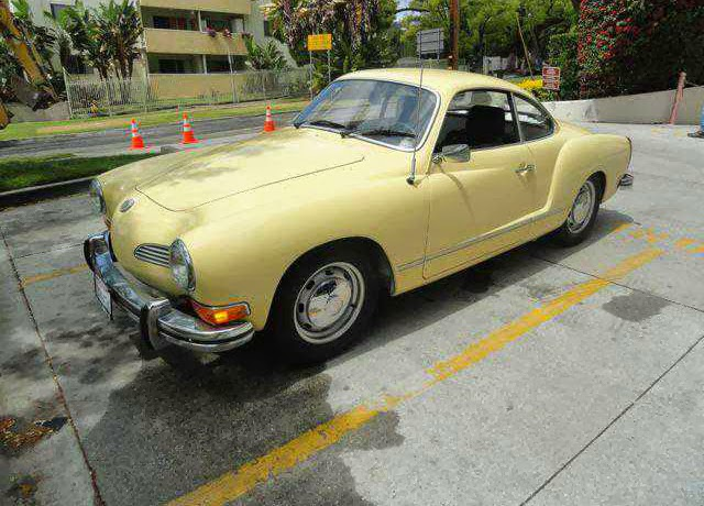 1974 Karmann Ghia California