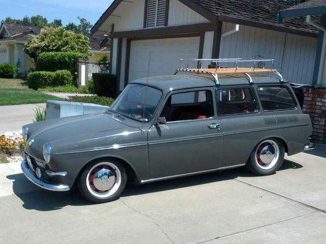 Newly restored 1967 Squareback
