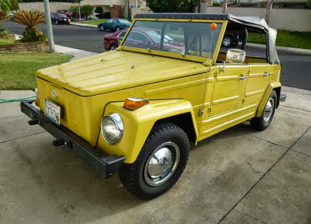yellow 1973 VW Thing for Sale
