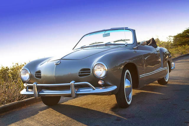 1958 Karmann Ghia Convertible