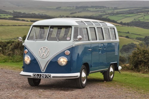 1965 VW 21 Window