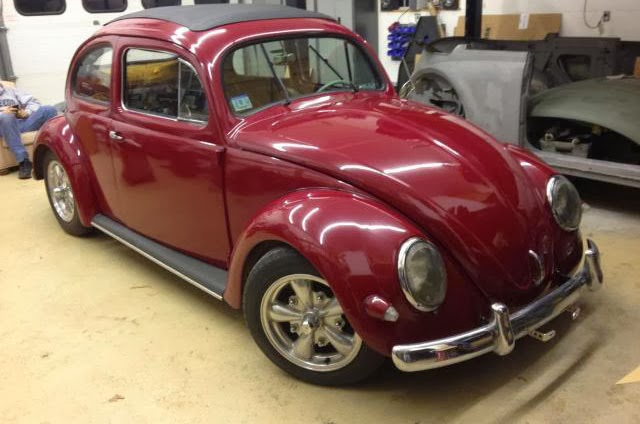 1956 VW Oval Ragtop for sale