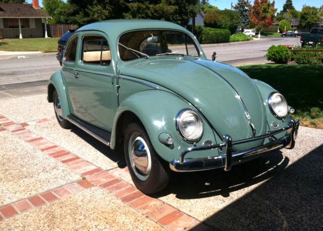 1957 Bug Oval Window 40k Original Miles