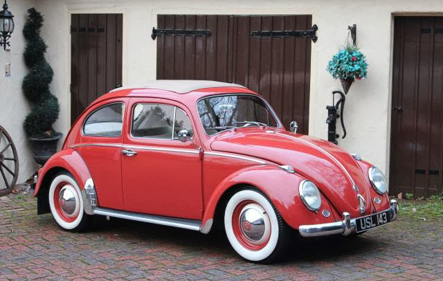 1960 VW Rag Top Beetle