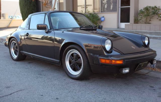 1980 Porsche 911 Targa Black Metallic