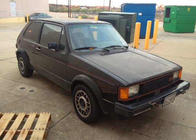 1984 VW Rabbit Gti for sale