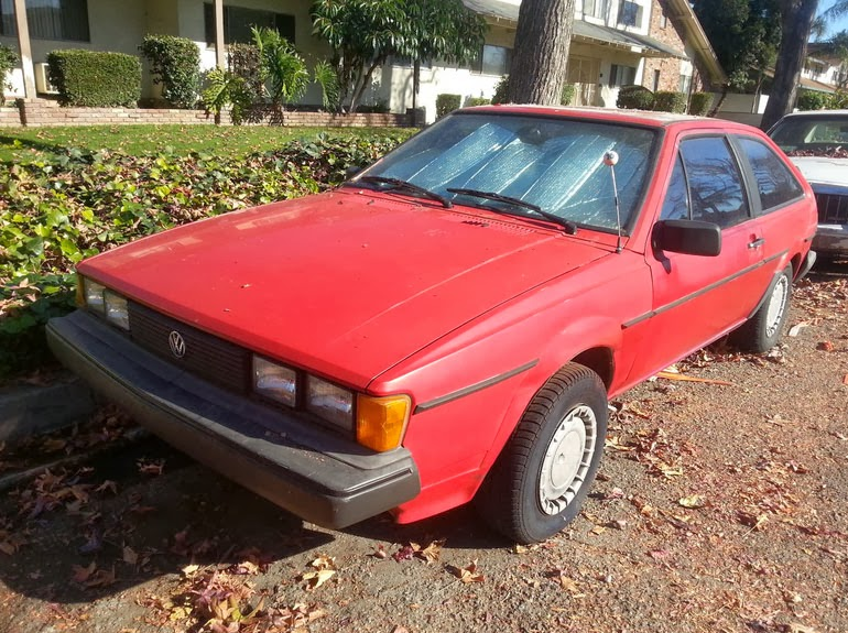 1986 Volkswagen scirocco manual