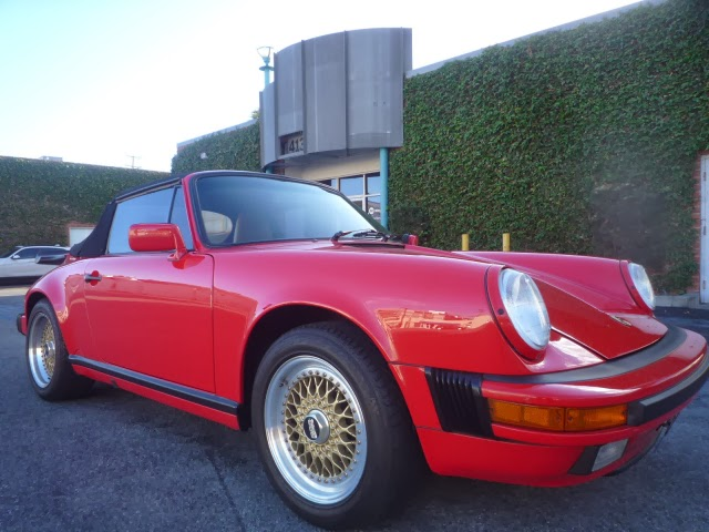 1989 Porsche 911 Cabriolet for sale