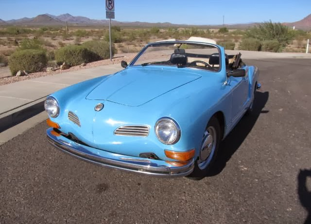 For Sale Karmann Ghia Convertible 1974