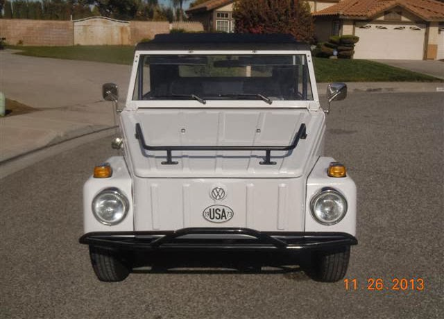 VW Thing 1973 White