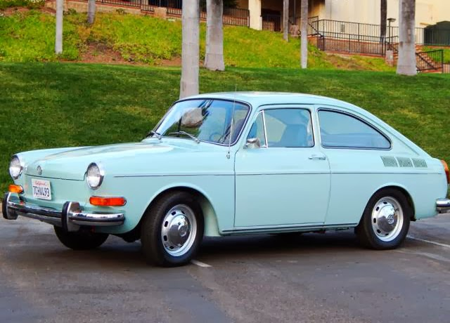 1971 VW Fastback Full Automatic