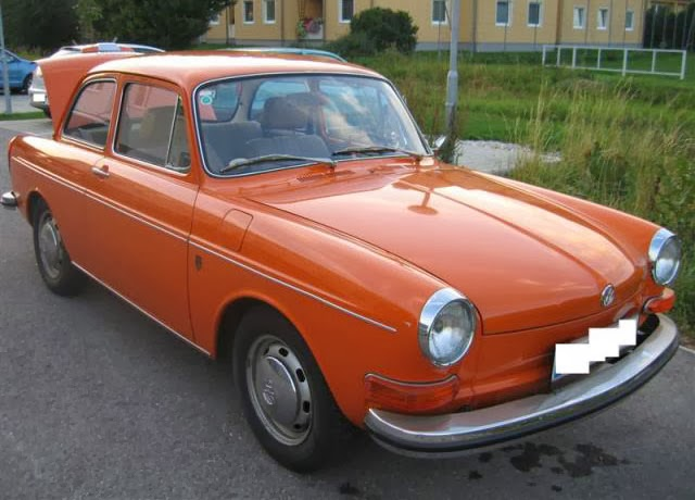 1972 VW Notchback Automatic
