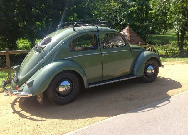 vw beetle split window